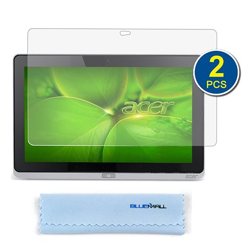 Birugear 2-Pack Premium Hd Guard Film Clear Lcd Screen Protector For Acer Iconia W700 11.6-Inch Windows 8 Tablet With *Microfiber Cloth*