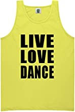 YOUTH quotLive Love Dancequot Bright Neon Tank Top - 6 bright colors