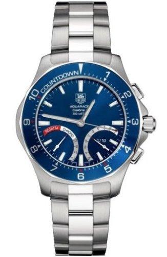 TAG Heuer Men's CAF7110.BA0803 Aquaracer Calibre S Regatta Chronograph Watch