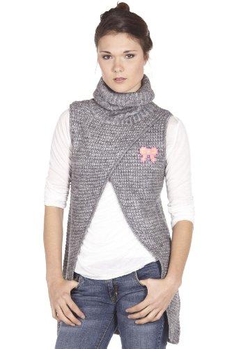 SMASH WEAR - Knitwear Jumper Tunic Grey APOLO