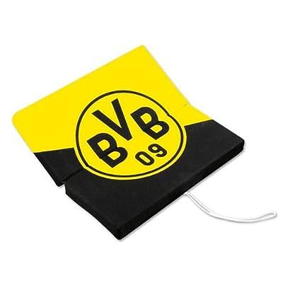 Bvb 09 Borussia Dortmund Sitzklappkissen SchrÄgstreifen 33x33x3 Cm Sitzkissen Stadionkissen von BVB 09 Borussia Dortmund bei Gartenmöbel von Du und Dein Garten
