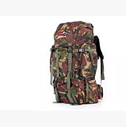 Outdoor Climbing Mountain Camouflage Bag Travel Bag Backpack Mailed 65 L Mountaineering Bag Special Bag