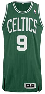NBA Boston Celtics Green Authentic Jersey Rajon Rondo #9 by adidas