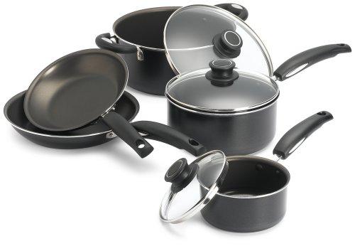 Nonstick Cookware Set Bialetti Gourmet 8 Piece Cookware Set