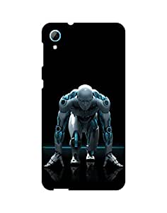 AANADI - Hard Back Case Cover for HTC 826 - Superior Matte Finish - HD Printed Cases and Covers