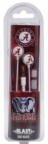 Ncaa Alabama Crimson Tide Blast Earbud Headphones
