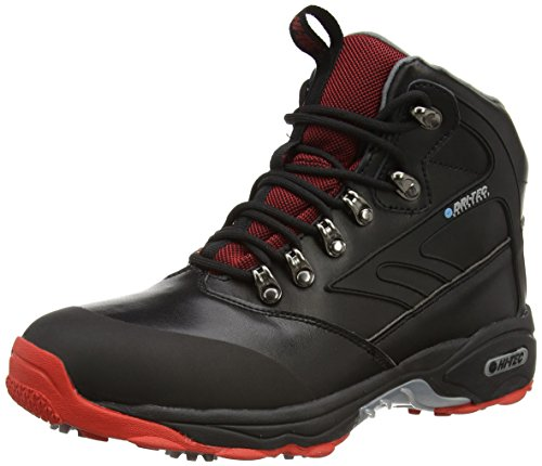 Hi-Tec Ht Evoque Mid Waterproof - Scarpe da Golf Uomo, Nero (Black/Grey 021), 42 EU