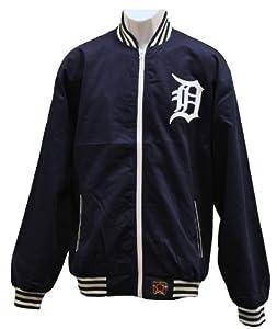 Detroit Tigers MLB Track Jacket Blue by J.H. Design
