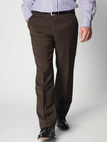 Brook Taverner Woking Trousers in Chocolate 32S