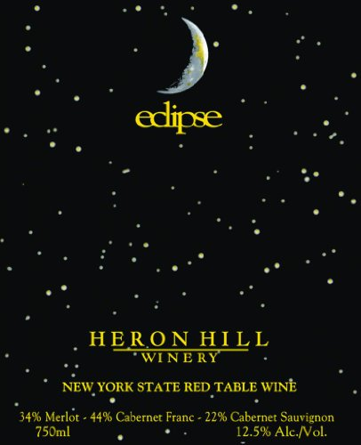 2010 Heron Hill Eclipse Red 750 Ml