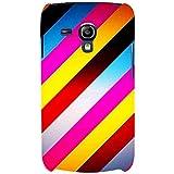 For Samsung Galaxy S3 Mini I8190 :: Samsung I8190 Galaxy S III Mini :: Samsung I8190N Galaxy S III Mini Stripes Pattern ( Stripes Pattern, Nice Pattern, Pattern, Stripes, Gradient ) Printed Designer Back Case Cover By FashionCops
