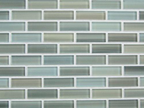Glass mosaic subway tile