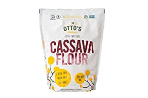 Amazon.com : Otto's Natural - Cassava Flour - 5 lb Bag