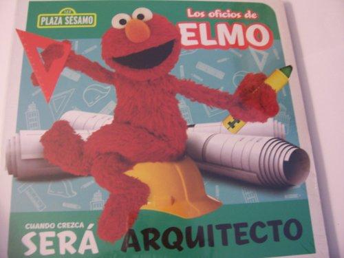 Plaza Sesamo Los Oficios de Elmo Libro del Rompecabezas ~ Arquitecto (Puzzle Book)
