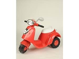 Babysun Voiture Mon Scooter Electrique Rouge