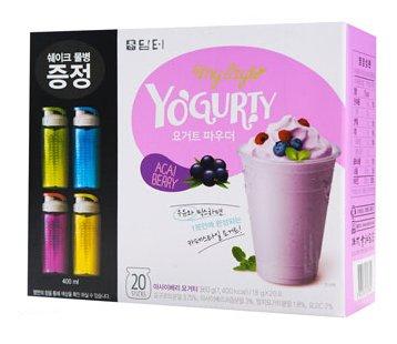 Acai Berry Yogurty - 20 Sticks with Free Sports Bottle (Acai Yogurt compare prices)