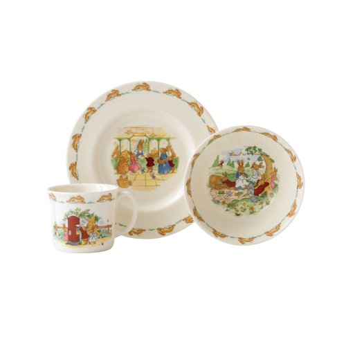 Royal Doulton Bunnykins 3-Piece Children'S Set, Assorted Styles