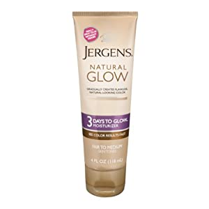 Jergens Natural Glow 3 Days To Glow Daily Moisturizer Fair to Medium