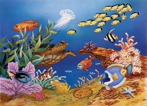 Undersea Lights 100pc Jigsaw Puzzle