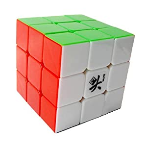 Dayan ®GuHong 3x3 Speed Cube 6-Color Stickerless V1
