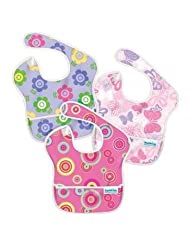 Bumkins Waterproof SuperBib Flower Butterfly