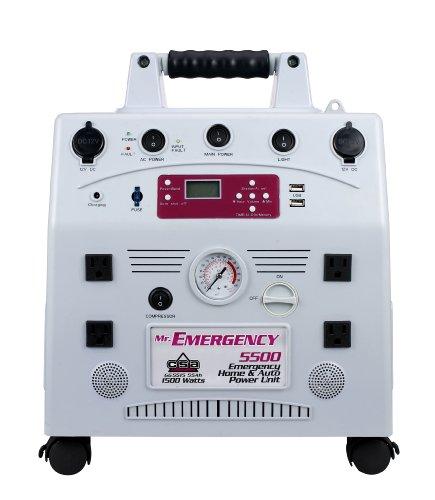 Mr. Emergency Gg5515 Grey Home/Auto Emergency Power Unit