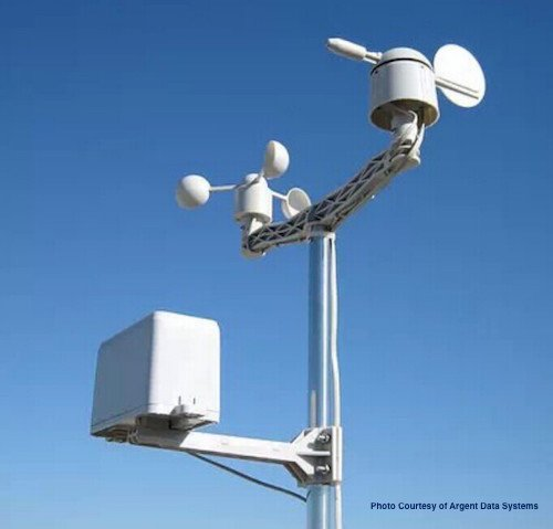 WeatherRack – Anemometer / Wind Vane / Rain Bucket designed for SwitchDoc Labs WeatherPiArduino Board and Raspberry Pi/Arduino