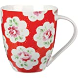Cath Kidston Provence Crush Mug, Fine China, Red