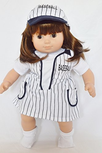 BASEBALL OUTFIT FOR AMERICAN GIRL DOLLS BITTY TWINS GIRLS