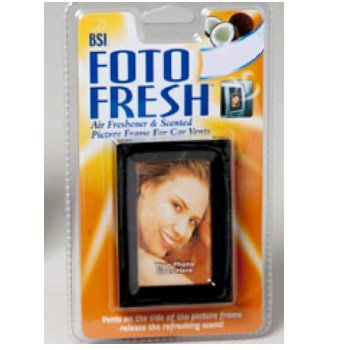 Wallet Size Picture Frame Air Freshener Hawaiian Surf