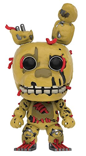 Funko Pop! Five Nights at Freddy's (cinque notti a Freddy) - Springtrap figura in vinile