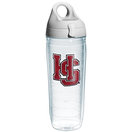 tervis-1135286-hampden-sydney-logo-emblem-individual-water-bottle-with-gray-lid-24-oz-clear