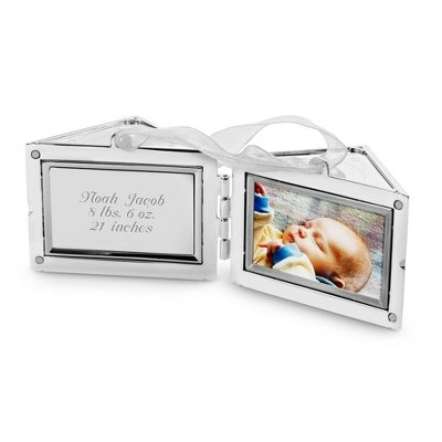 Personalized 2012 Baby Block 3D Christmas Ornament front-353122