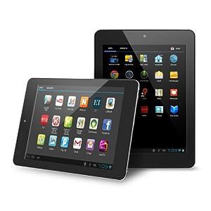 Noria SLIMx 7.9-Inch Google Android 4.2 Tablet. Bluetooth 2.0. 16GB Flash Storage. 1GB RAM. 1020x600 HD Resolution. - Jet Black [est Version November 2013] by Chromo Inc.