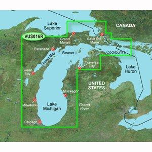 Garmin VUS016R - Lake Michigan - SD Card