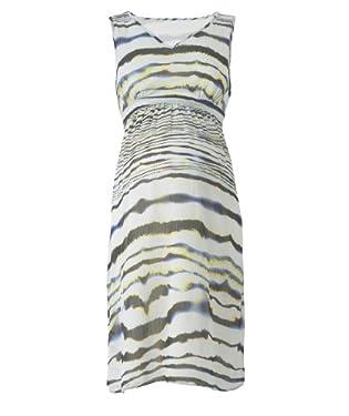 Maternity Zebra Print Chiffon Dress