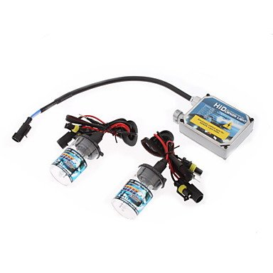 Zcl12V 35W H13H Xenon High Beam/Halogen Low Beam Hid Lamp Conversion Kit Set (Thick Ballast)
