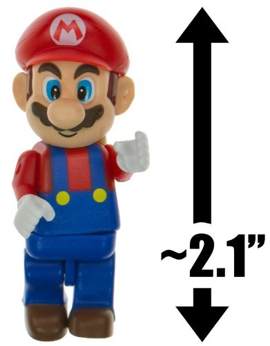 "Mario ~2.1"" Mini-Figure - K'NEX Mario Kart Building Set - 1"