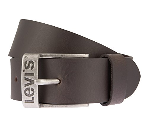 LEVIS Cintura di uomini Cintura di Pelle marrone 2650, Länge:95 cm;Farbe:braun