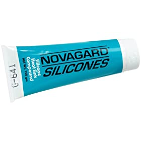 Novagard G641 Thermally Conductive Compound, 2.8 oz Tube: Industrial &amp; Scientific