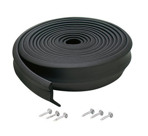 Images for M-D Building Products 3723 Garage Door Bottom Rubber, 9 Feet, Black