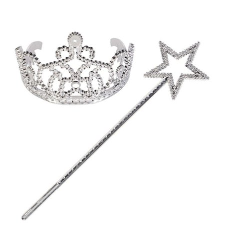 Read About Princess Wand Tiara Set – 1 Set