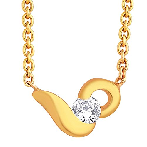 Sangini Sangini 18K Yellow Gold Diamond Pendant (Multicolor)