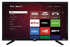 TCL 28S3750 28 Inch 720p Roku Smart LED TV (2015 Model)