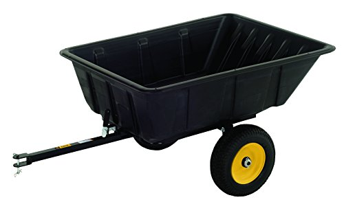 Polar Trailer 9542 LG10 Lawn and Garden Trailer, 10 Cubic Feet-Level, 13 Cubic Feet-Heaping (Wheelbarrow 10 Cubic Feet compare prices)