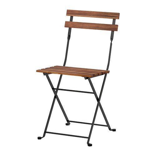 IKEA-Klappstuhl-TRN-Gartenstuhl-aus-massiver-Akazie-und-Stahl