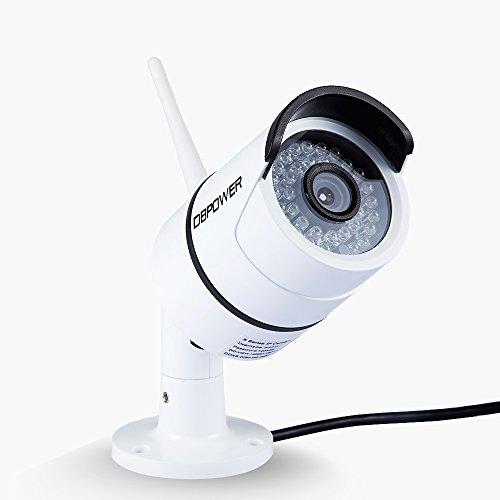KAUFEN  DBPOWER 1080P Wireless IP Kamera Außen, IP66 Wasserdicht WiFi Drahtlos IP Sicherheit Kamera Überwachungskamera Netzwerk Überwachung Kamera mit IR-Cut Nachtsicht ONVIF 2.3 Nachtsicht & Alarmfunktion