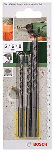 bosch-2609256908-set-de-3-forets-a-beton-sds-quick-pour-perforateur-uneo-diametre-5-6-8-mm