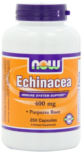 Now Foods Echinacea, 250 Capsules / 400Mg