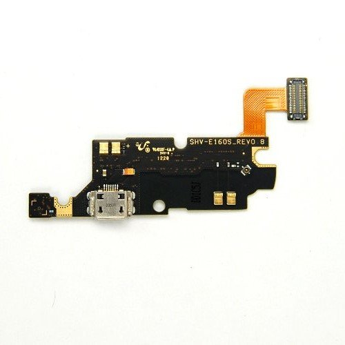Mato Online® Connector Charging Port Microphone Replacement Part Flex Cable Ribbon For Samsung Galaxy Note I9220 N7000